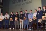 Slavnostní vyhlášení ankety Sportovec města Vrchlabí za rok 2017