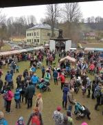 Velikonoční slavnost na Dlaskově statku si vychutnávali malí i velcí