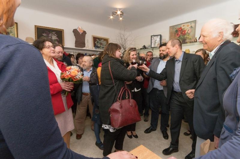Otevření prvního charitativního obchůdku ADRA v turnovské Nádražní ulici