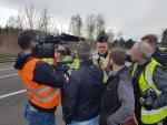 Během krajské dopravní akce použili policisté nové dalekohledy