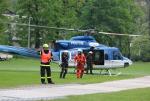 Taktické cvičení složek IZS zaměřené na koordinaci nasazení letecké techniky při řešení mimořádné události