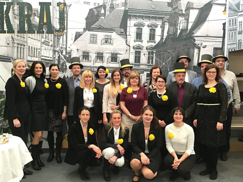Sdružení Český ráj a Liberecký kraj na Holiday World Praha