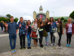 Delegace žáků ze ZŠ Žižkova Turnov na vyhlášení soutěže Náš svět v Praze