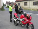 Policejní kontroly motorkářů na Českolipsku