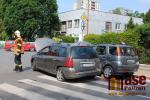 Menší nehoda zkomplikovala sobotní dopravu v Semilech