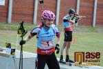 Exhibiční závod dvojic při otevření sportovního areálu Hraběnka v Jilemnici