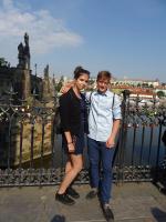 Slavnostní pasování na rytíře Řádu krásného slova v pražském Klementinu