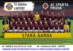 Exhibiční utkání TJ Jiskra Libštát - AC Sparta Praha Stará garda