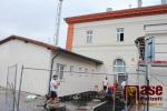 Rekonstrukce nádražní budovy v Turnově - červen 2018