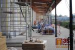 Rekonstrukce nádražní budovy v Turnově - květen 2018
