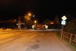 Křižovatka ulic Přepeřská, Nudvojovická a Za Viaduktem v Turnově, kde došlo ke střetu auta a motocyklisty