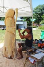 Svatoanenské dřevosochání v Harrachově 2018
