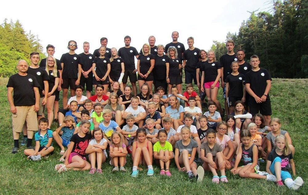 Hasičský dětský tábor s SDH Semily I v roce 2018