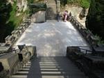 Probíhající opravy na hradě Valdštejn