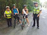 Policisté kontrolovali cyklisty v okolí Hrubé Skály