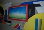 Street art vznikl v turnovském podchodu