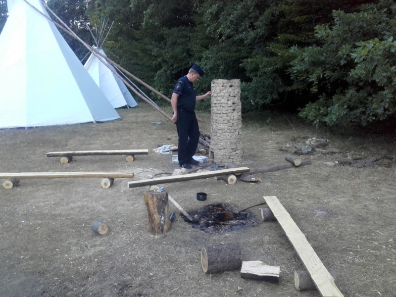 Kontroly kempů a táborů<br />Autor: HZS Libereckého kraje