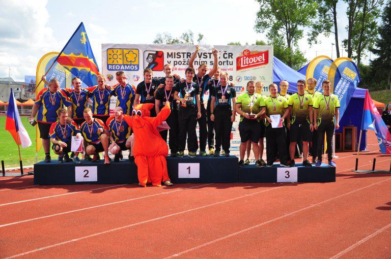 Mistrovství České republiky v požárním sportu družstev v Liberci<br />Autor: Archiv Mediální tým MČR v PS Liberec 2018