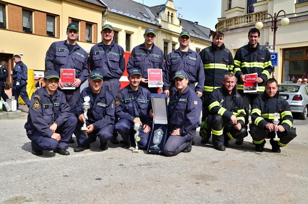 Krajská soutěž ve vyprošťování v Jilemnici<br />Autor: HZS Libereckého kraje, Pavlína Bílková