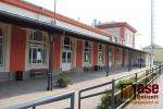 Budova nádraží v Turnově po druhé etapě rekonstrukce