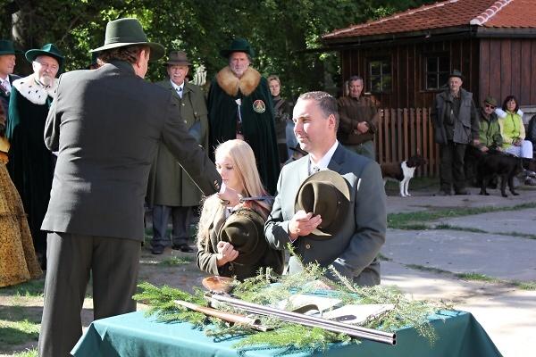 Svatohubertská slavnost na Valdštejně 2018<br />Autor: Zdenka Štrauchová