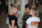 Vernisáž výstavy obrazů Milana Chabery Velká komunikace