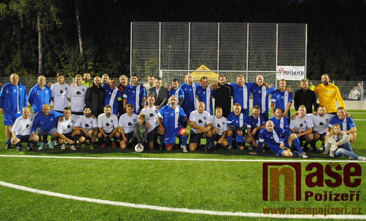 Utkání starých gard FK Turnov - Slovan Liberec<br />Autor: Petr Ježek
