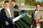 Slavnostní otevření fotbalového hřiště s umělým povrchem v Turnově