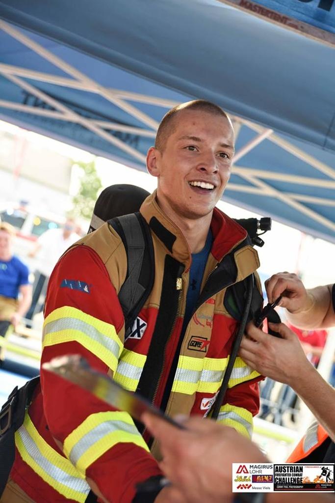 Liberecký hasič Jan Pipiš na soutěžích FCC<br />Autor: Archiv Jana Pipiše