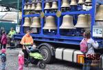 Mobilní zvonohra na vrchlabském náměstí