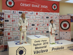 Zlatá Zárybnická a stříbrná Burešová na Českém poháru v Teplicích
