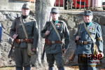 Slavnostní odhalení památníku padlým v 1. světové válce na urnovém háji v Semilech