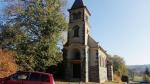 Poškození stromu a kostela v Bukovině