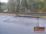 Oprava silnice mezi Hájemi nad Jizerou a Dolní Sytovou