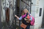 Návštěva z Ameriky v turnovské synagoze