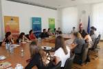 Studenti Univerzity Palackého v kanceláři EU delegace vGruzii