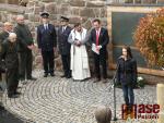 Odhalení pomníku padlým vojákům v 1. světové válce v Libštátě