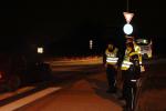 Policisté upozorňovali v Libereckém kraji na viditelnost chodců