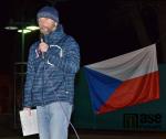 Oslavy výročí 17. listopadu ve Vrchlabí