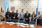 Podpis smlouvy zadavatelů se zhotovitelem stavby Silnice II/610 Turnov - hranice Libereckého kraje