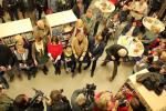 Slavnostní otevření pobočky knihovny Antonína Marka na turnovském nádraží