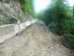 Rekonstrukce silnice II. třídy v Hájích nad Jizerou