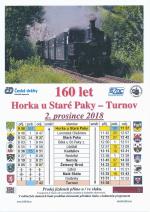 160 let trati Horka u Staré Paky - Turnov