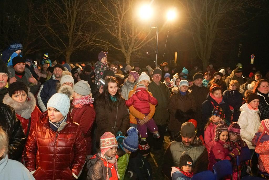 Rozsvícení vánočního stromu v Bozkově 2018<br />Autor: Karel Čermák