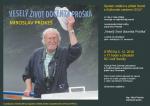 Křest knihy Veselý život docenta Proška v semilském KC Golf