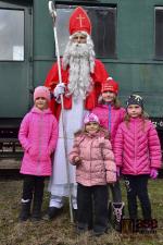 Mikulášský parní vlak v Jilemnici 2018