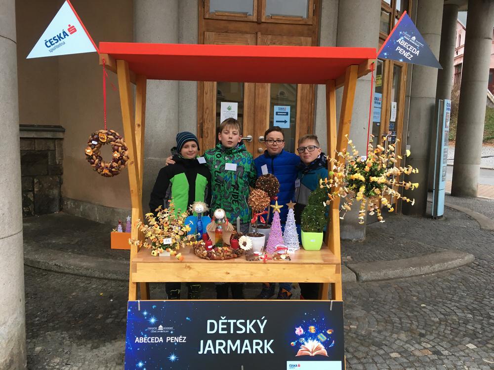 Projekt Abeceda peněz v Turnově, Semilech a Liberci<br />Autor: Marta Vokurková