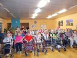 Předvánoční program pro klienty Domova důchodců v Rokytnici nad Jizerou