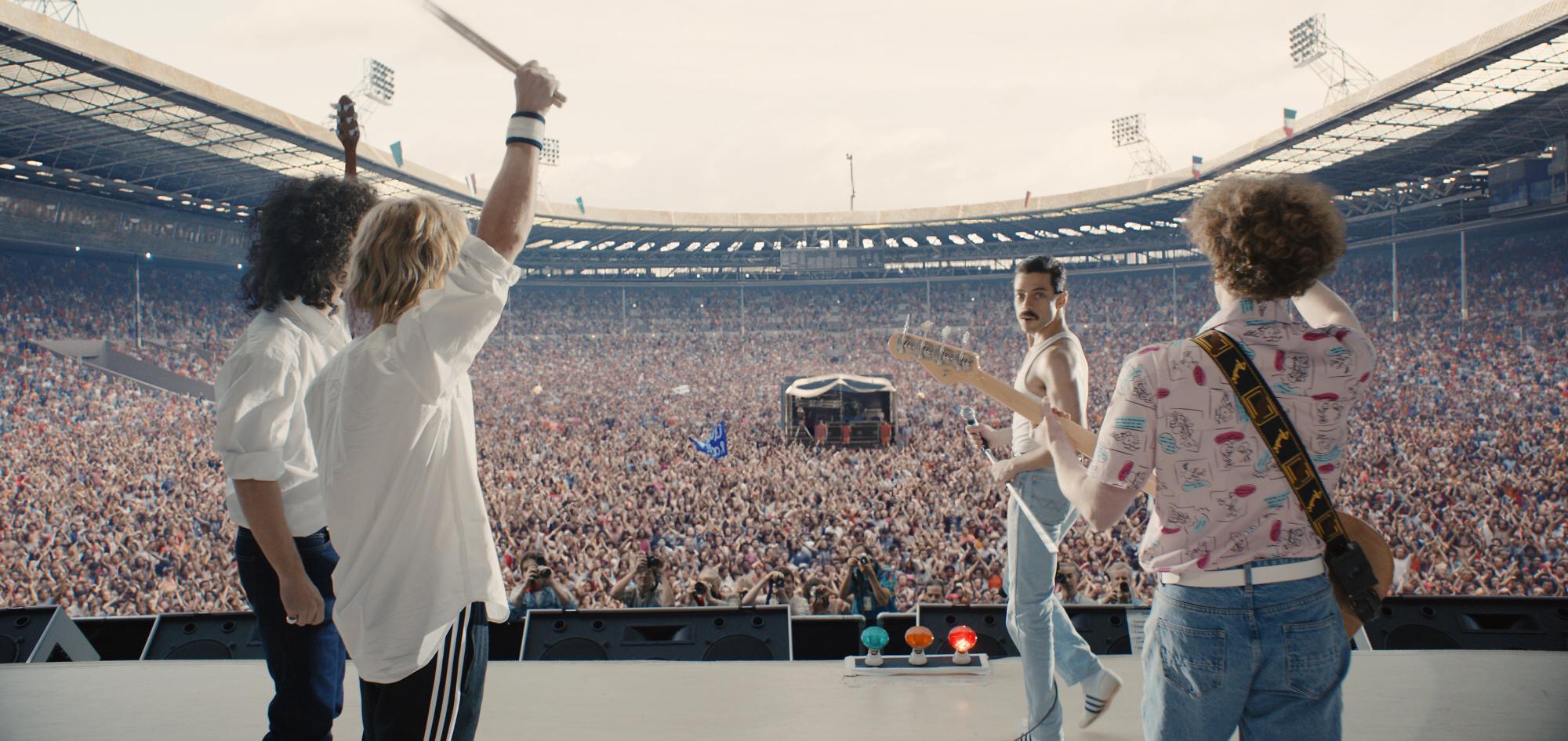 Z filmu Bohemian Rhapsody<br />Autor: Archiv Cinemart