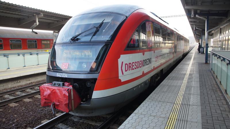 Moderní nízkopodlažní vlaky Siemens Desiro<br />Autor: Archiv Arriva Transport ČR